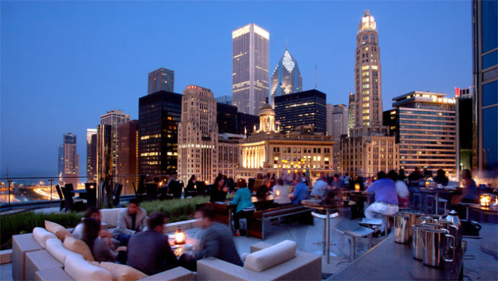 rooftop bars preview chicago