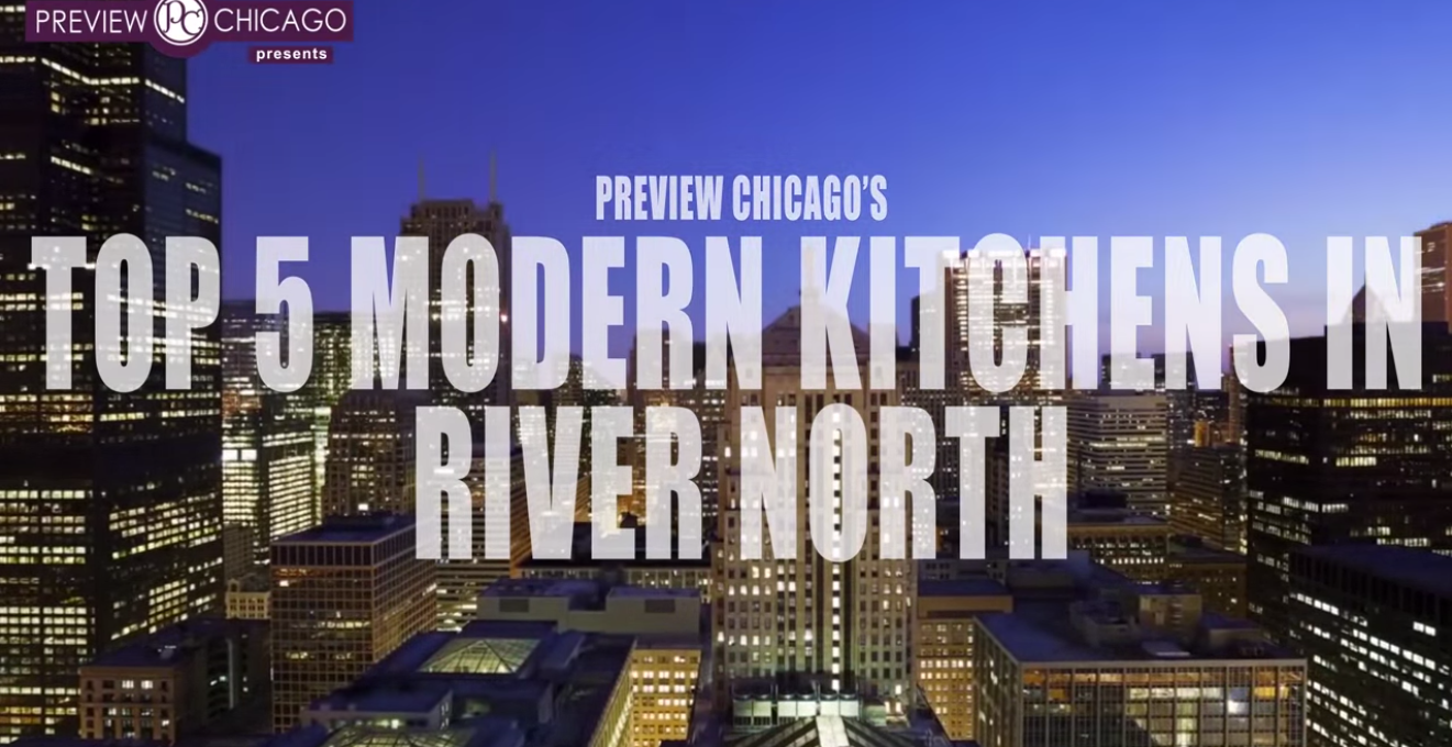 modern kitchens in river north