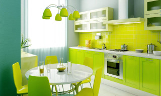 2 green and yellow
