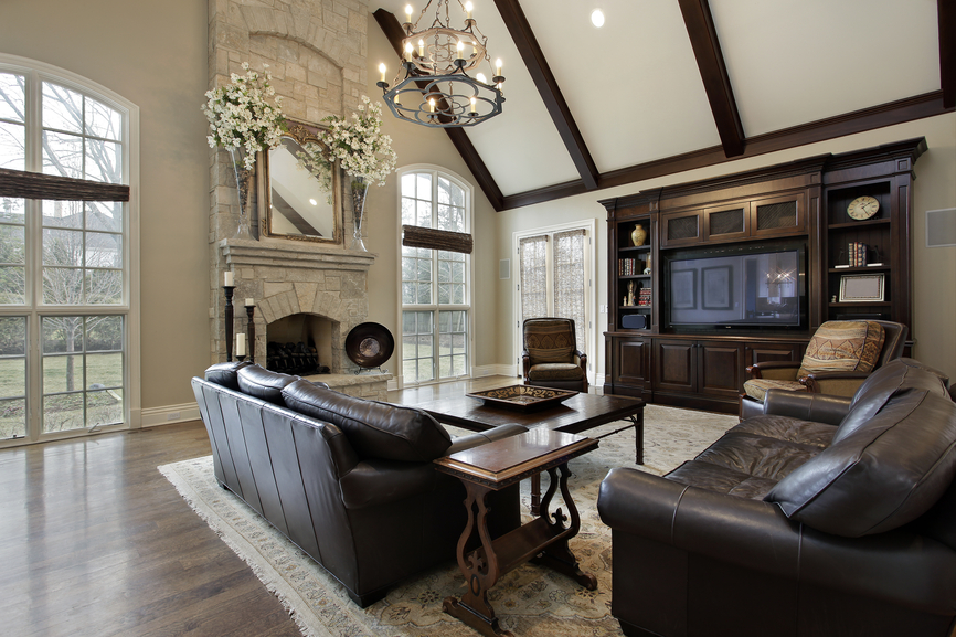 Best Family Room Design Ideas With Fireplace Gallery - Decorating ...