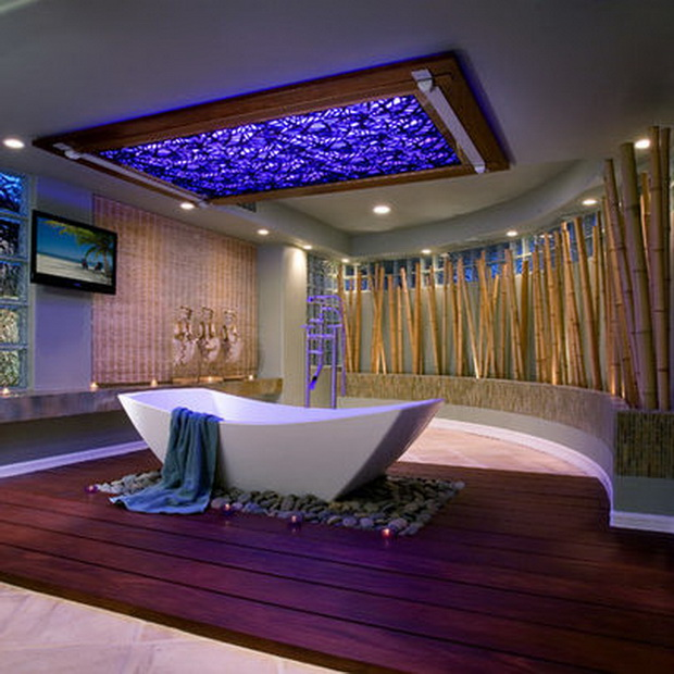 Check out these bathrooms on steroids for Modern bathroom ideas 2015
