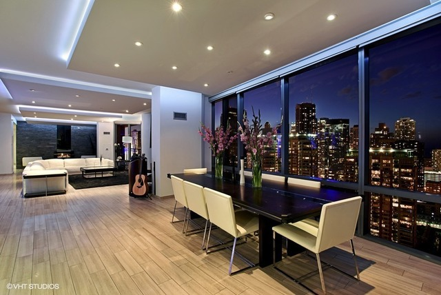 lakeshore east penthouse is the new party pad preview chicago. Black Bedroom Furniture Sets. Home Design Ideas