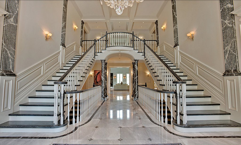 two-story-entrance-filled-Italian-marble