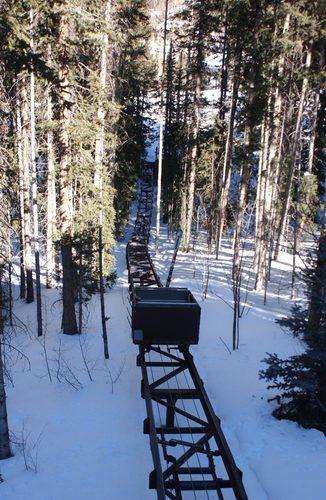 Oprah Rail Car Ski Hill