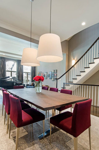 Jonathan Toews dining room