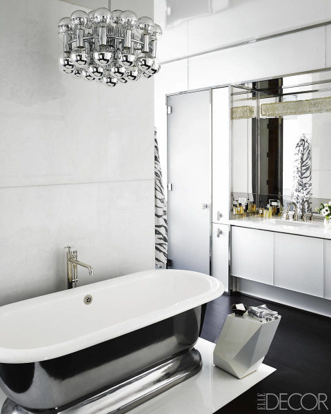 Top 10 black and white bathroom ideas preview chicago for Black white bathroom ideas