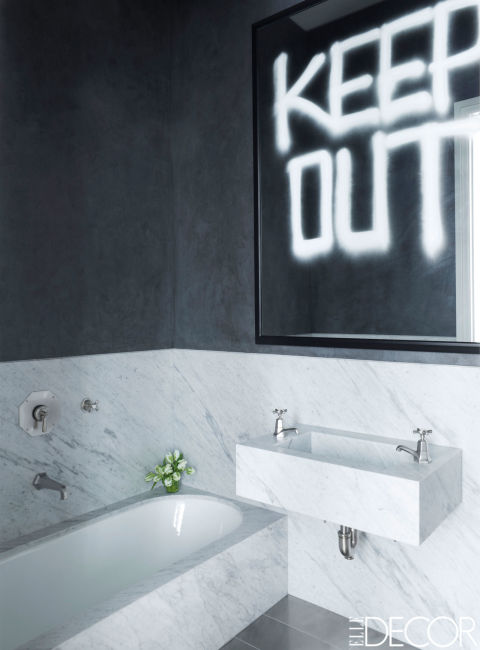 Top 10 black and white bathroom ideas preview chicago chicago real estate entertainment - Black and white bathrooms pictures ...