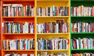 Inside the colorful Open Books (Photo by Open Books)
