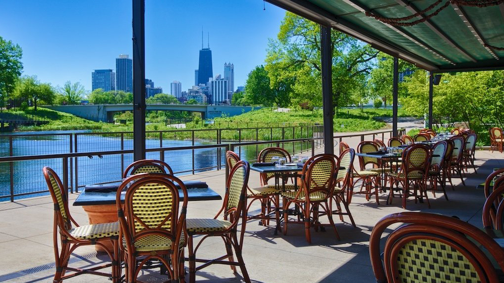 The Patio At Cafe Brauer Lincoln Park Zoo
